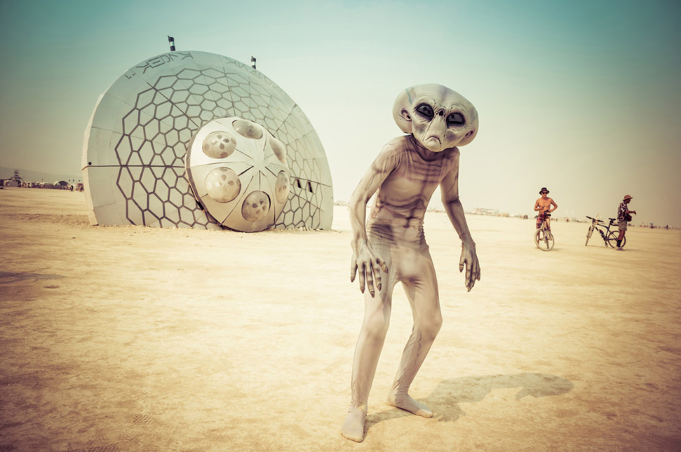 Фестиваль Burning Man 22