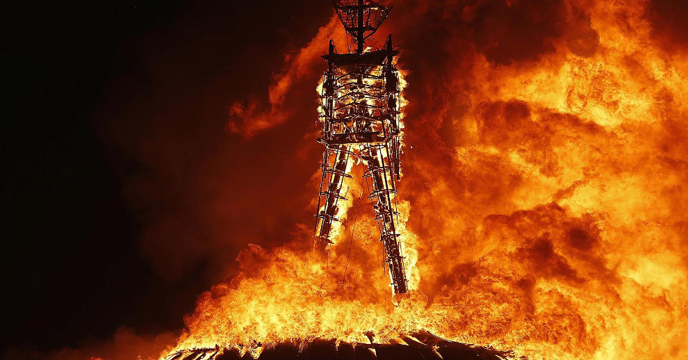 Фестиваль Burning Man 23