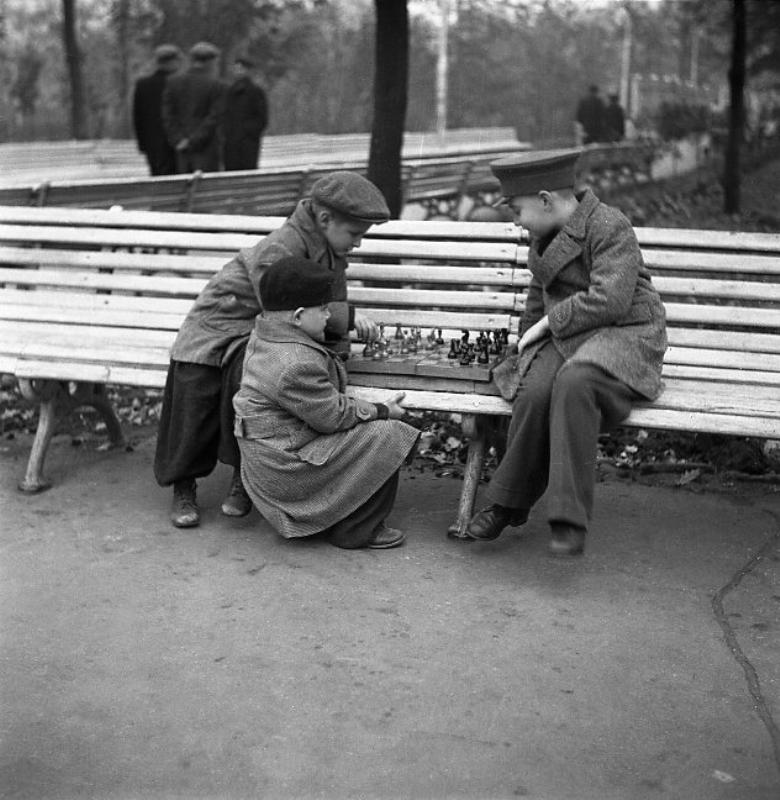 Советские фотографии Эрвина Волкова 30