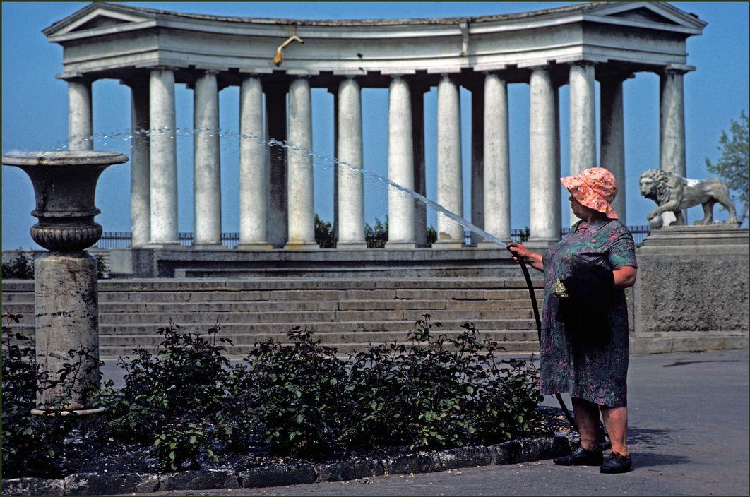Одесса в 1982 году. фотожурналист Иэн Берри  47