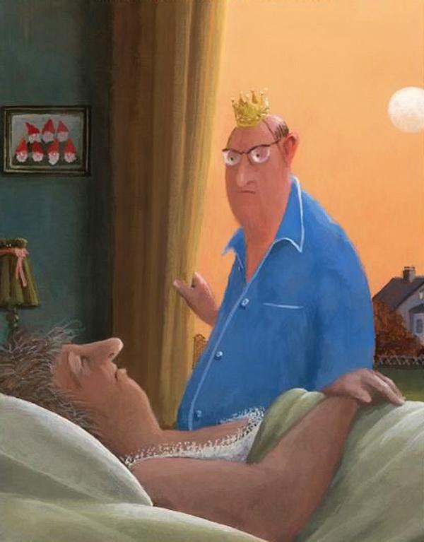 Карикатуры художника Герхарда Глюка 1