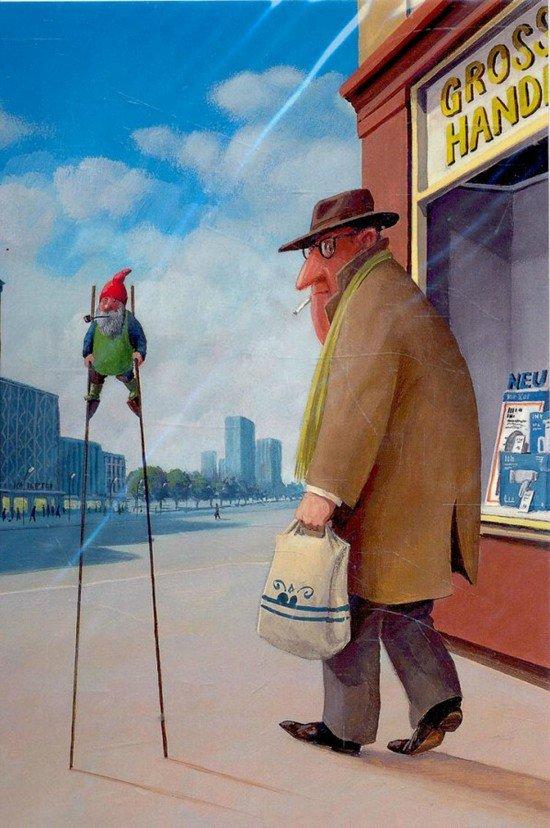 Карикатуры художника Герхарда Глюка 30