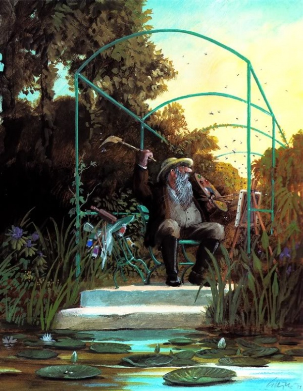 Карикатуры художника Герхарда Глюка 33
