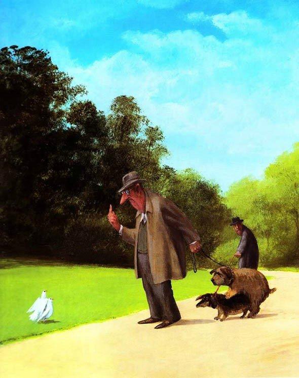 Карикатуры художника Герхарда Глюка 5