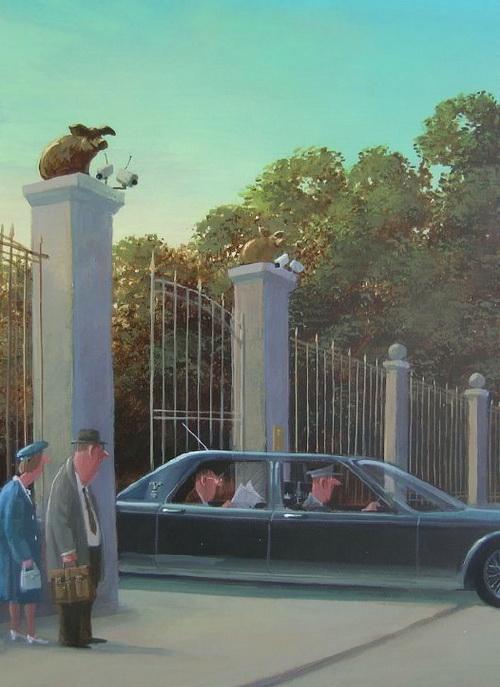 Карикатуры художника Герхарда Глюка 6