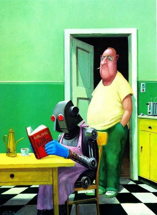 Карикатуры художника Герхарда Глюка 9