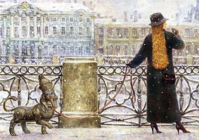 Картины Владимира Румянцева 105
