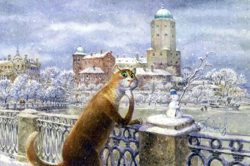 Картины Владимира Румянцева 108