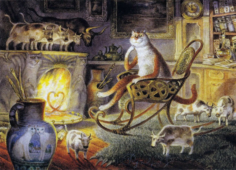 Картины Владимира Румянцева 53