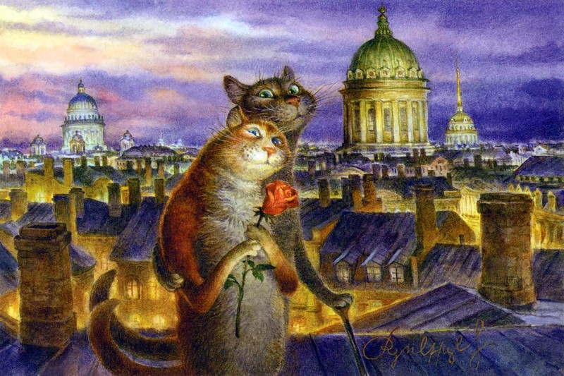 Картины Владимира Румянцева 9