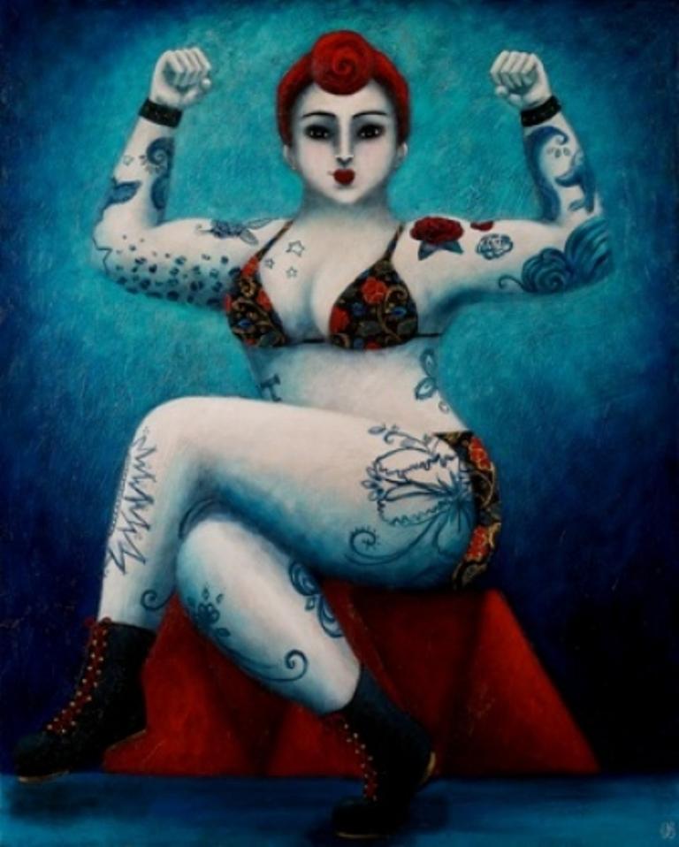 Картины Джоанны Перду 13