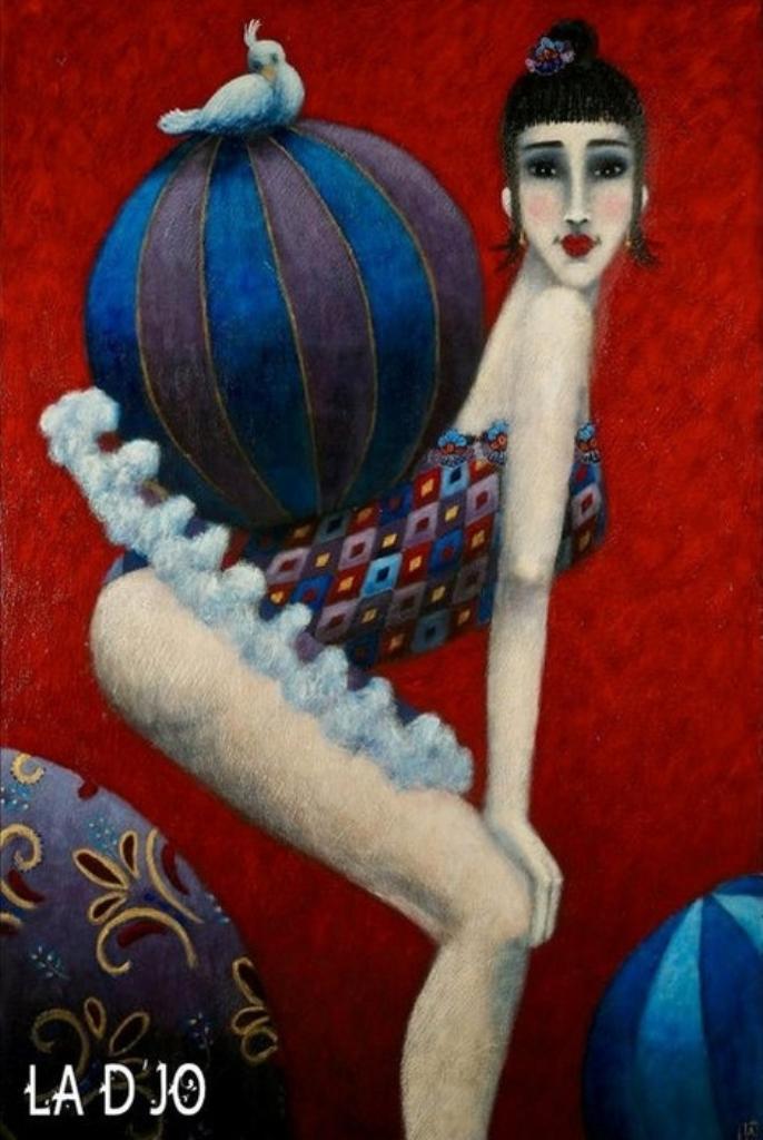 Картины Джоанны Перду 9
