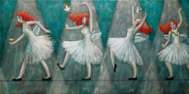 Картины Джоанны Перду 8