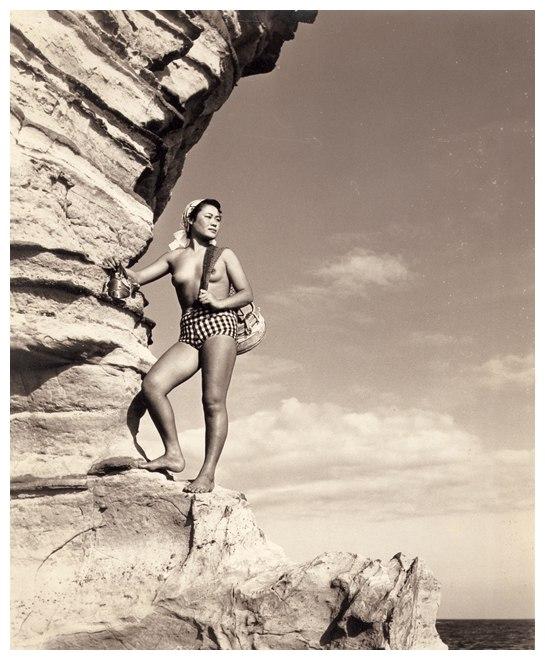 «Женщины моря». Фотограф Ивасе Ёсиюки 34