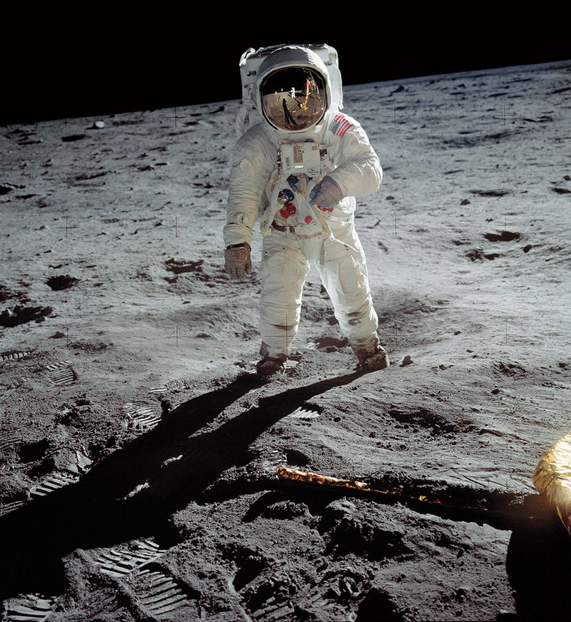 A Man on the Moon Neil Armstrong NASA 1969
