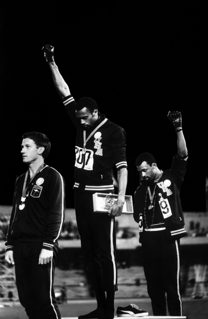 Black Power Salute John Dominis 1968