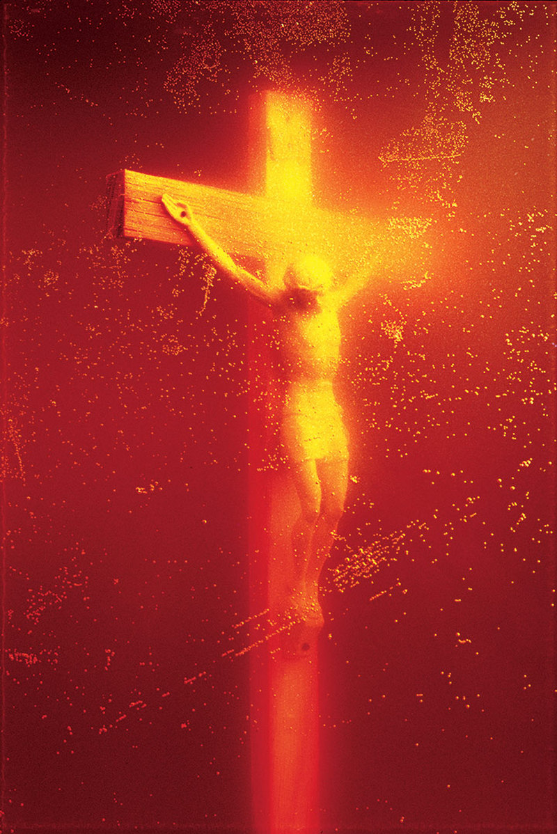 Immersions Piss Christ Andres Serrano 1987