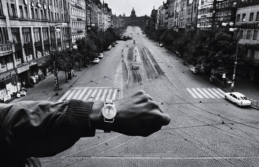 Invasion of Prague Josef Koudelka 1968