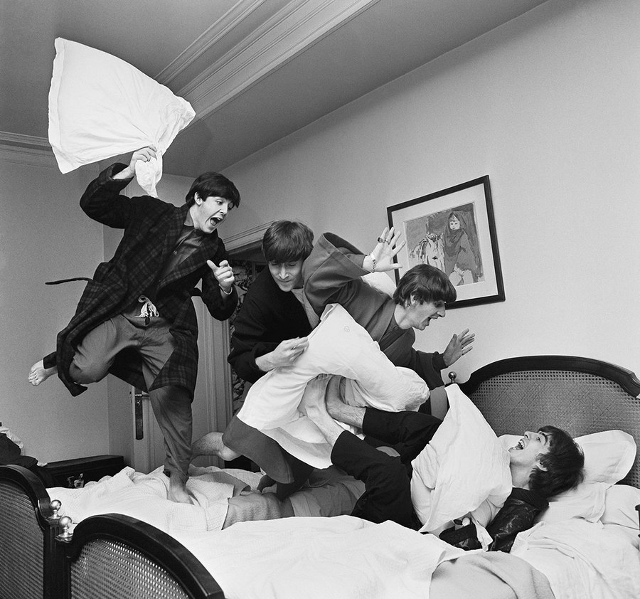 The Pillow Fight Harry Benson 1964