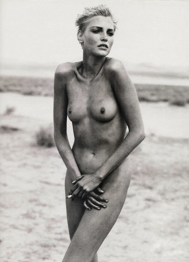 Nadja Auermann by Peter Lindbergh