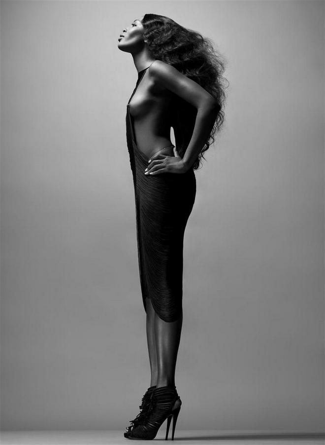 Naomi Campbell by Solve Sundsbo