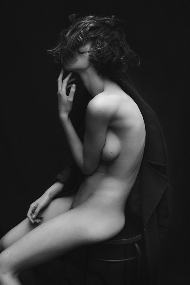 Black white nude photography by lalit rastogi