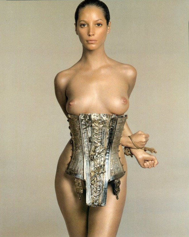 Christy Turlington by Richard Avedon