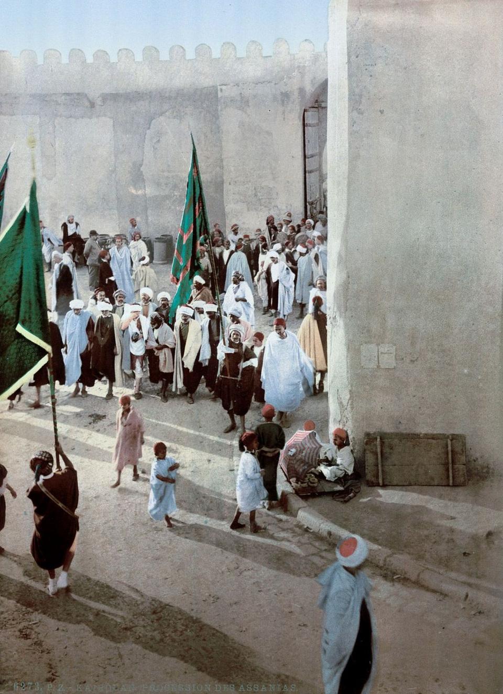 A procession in Kairwan