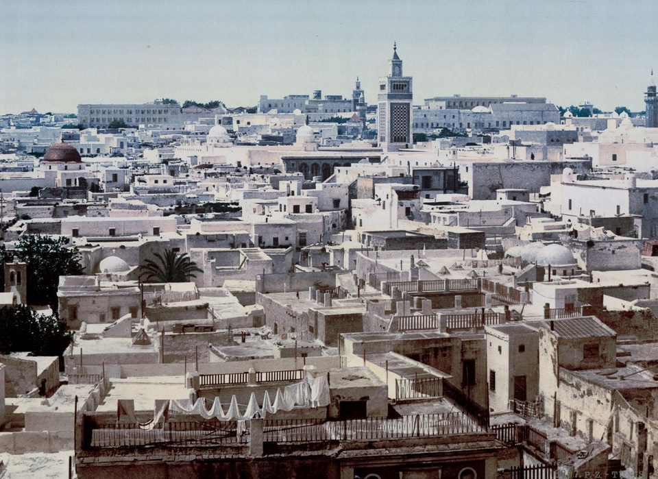 A view of Tunis from the Paris Hotel