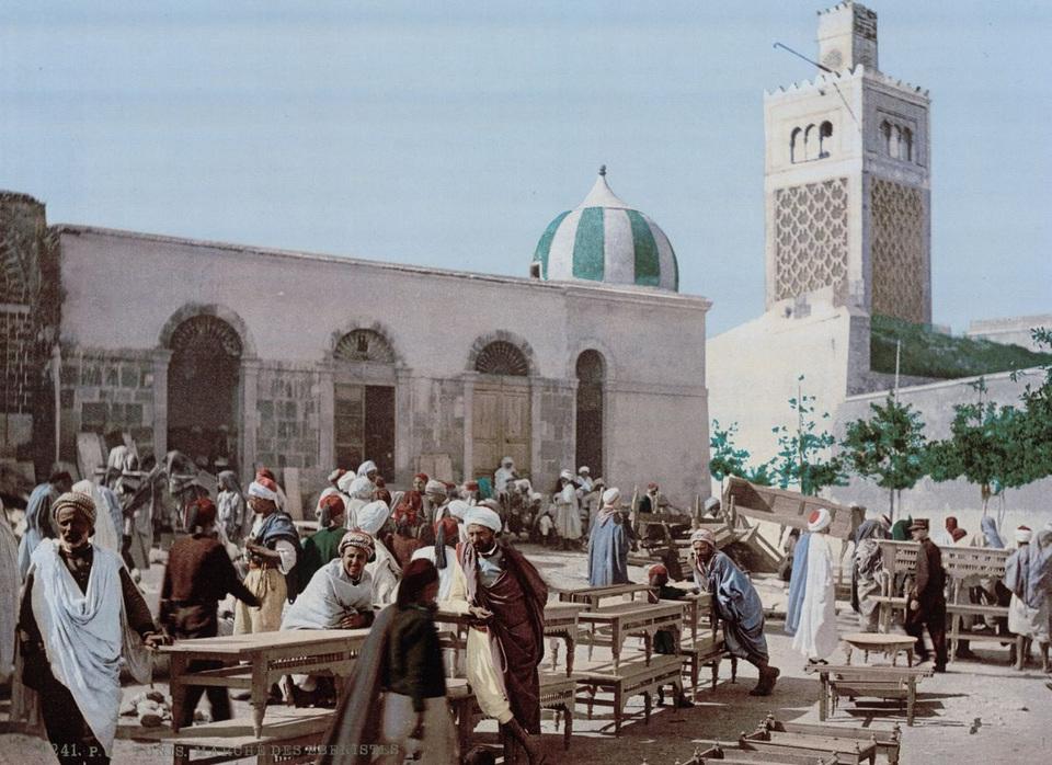Ebony market Tunis