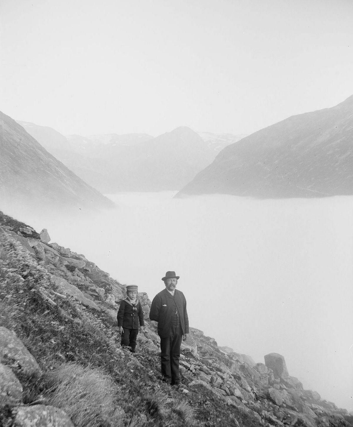 Люди Согндала 1900 Норвегия 13