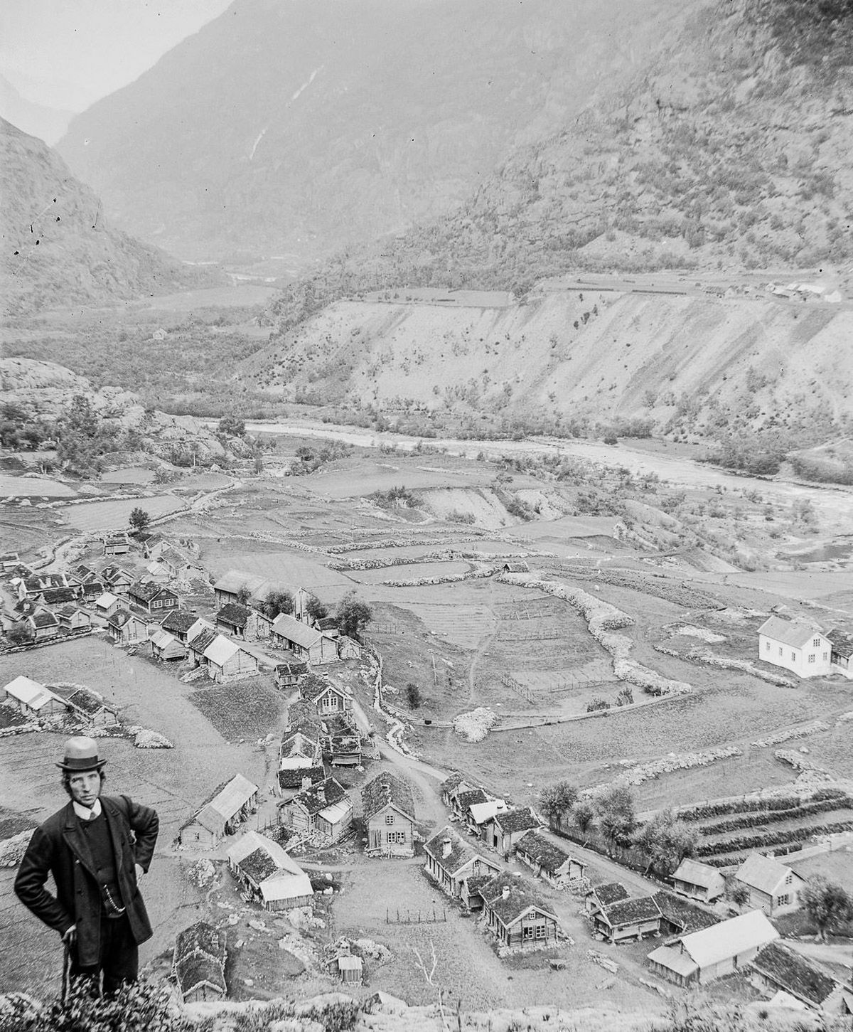 Люди Согндала 1900 Норвегия 14