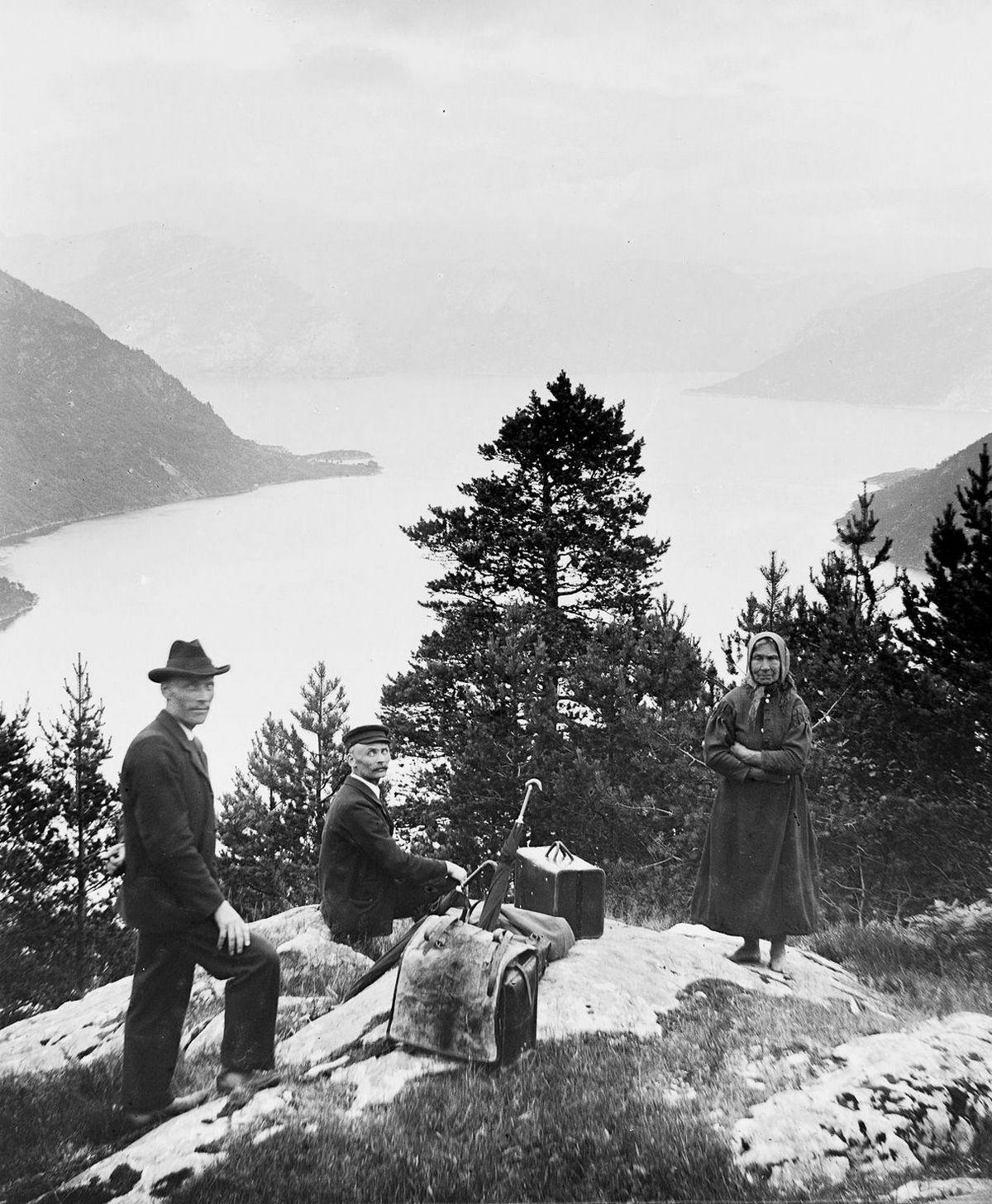 Люди Согндала 1900 Норвегия 20