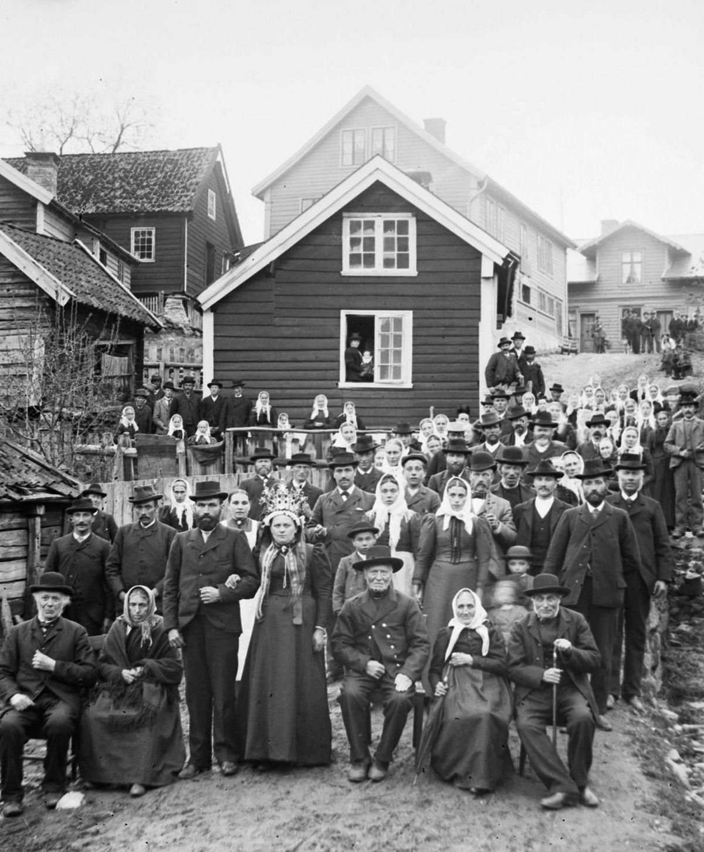 Люди Согндала 1900 Норвегия 21
