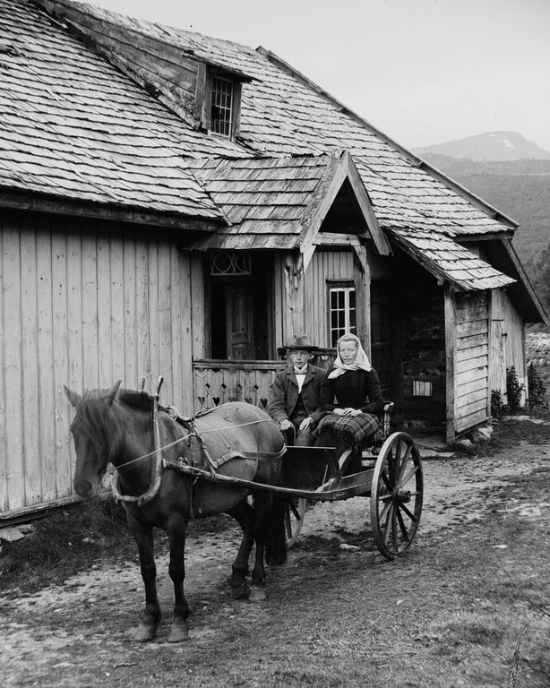 Люди Согндала 1900 Норвегия 24