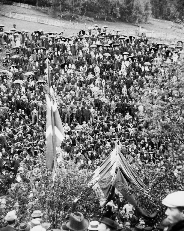 Люди Согндала 1900 Норвегия 25
