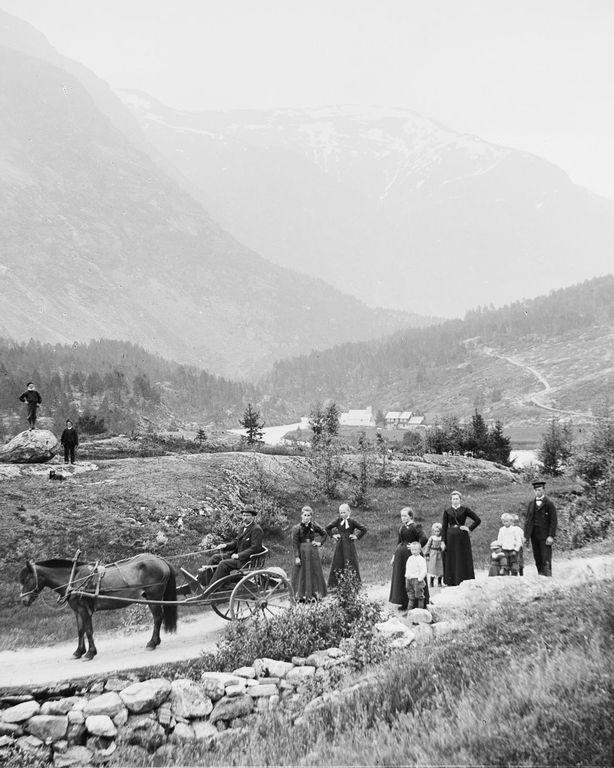 Люди Согндала 1900 Норвегия 30