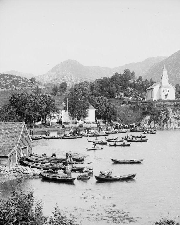 Люди Согндала 1900 Норвегия 33
