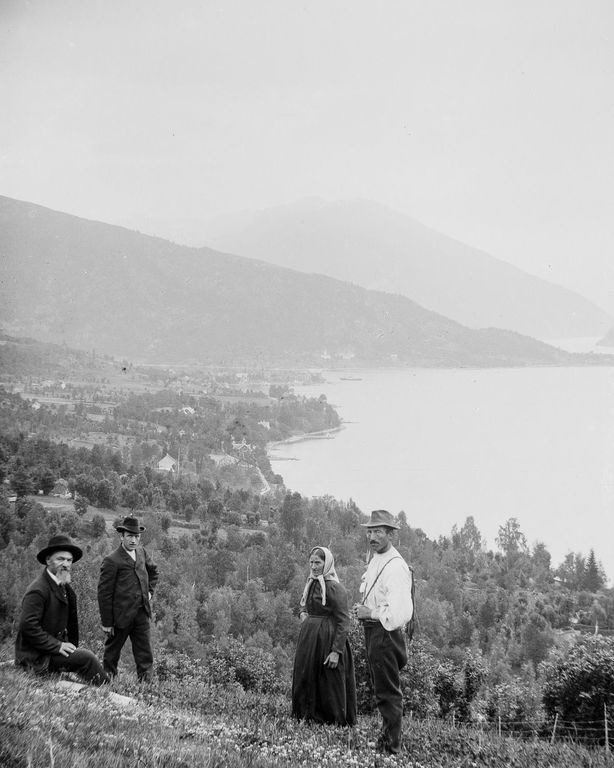 Люди Согндала 1900 Норвегия 36
