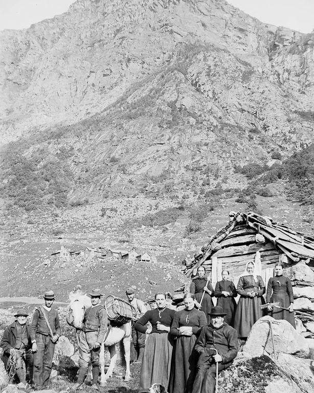 Люди Согндала 1900 Норвегия 37