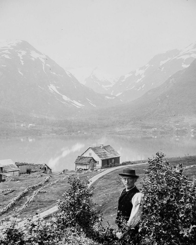 Люди Согндала 1900 Норвегия 5