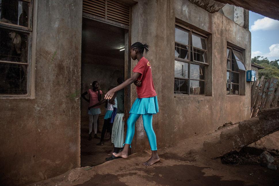 Балет в трущобах. Фотограф Фредрик Лернерид 10
