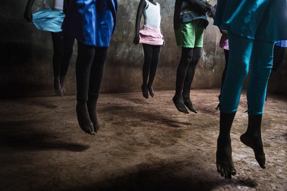Балет в трущобах. Фотограф Фредрик Лернерид 14