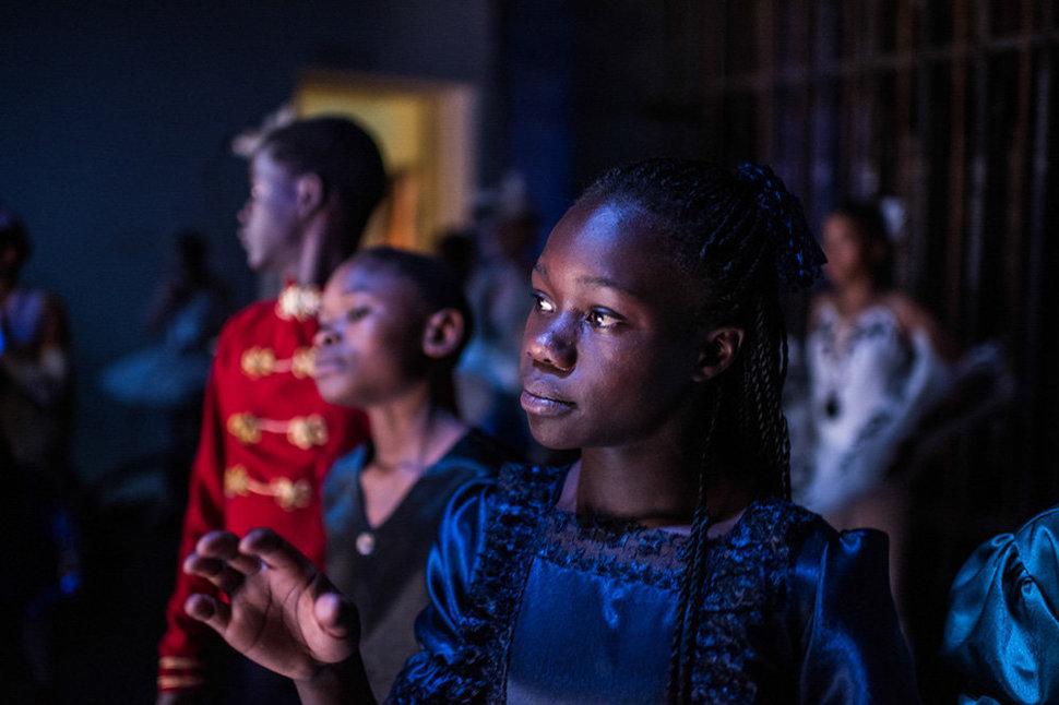 Балет в трущобах. Фотограф Фредрик Лернерид 29