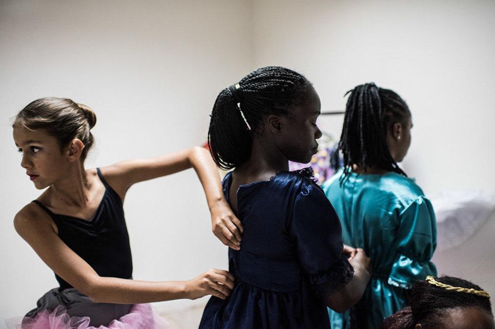 Балет в трущобах. Фотограф Фредрик Лернерид 31