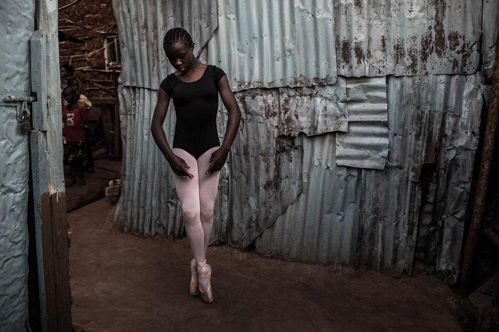 Балет в трущобах. Фотограф Фредрик Лернерид 4