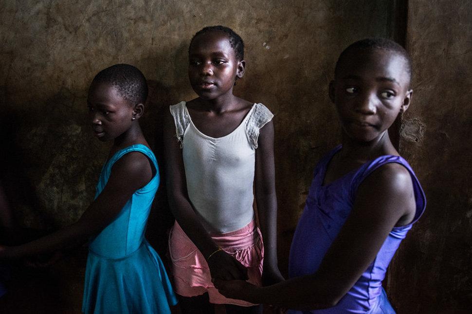 Балет в трущобах. Фотограф Фредрик Лернерид 7