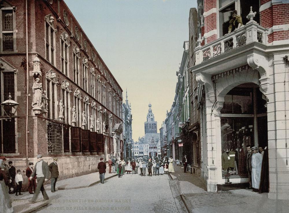 Цветные открытки Нидерландов 1890-х годов 10