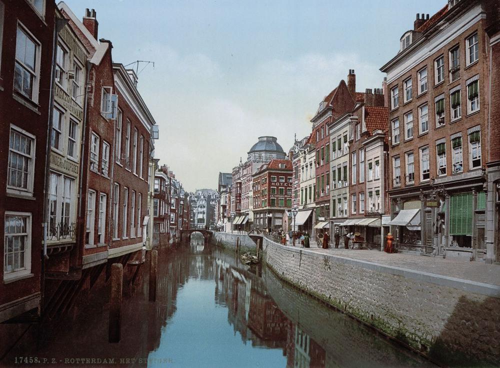 Цветные открытки Нидерландов 1890-х годов 14