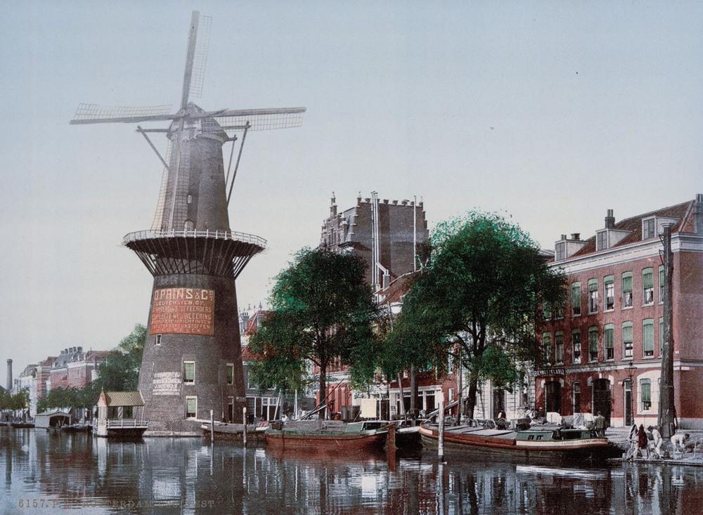 Цветные открытки Нидерландов 1890-х годов 15